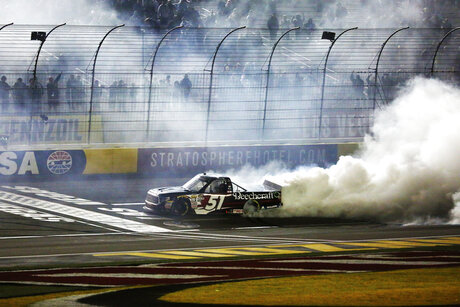 NASCAR Trucks Las Vegas Auto Racing