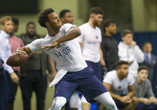 Notre Dame Pro Day Football