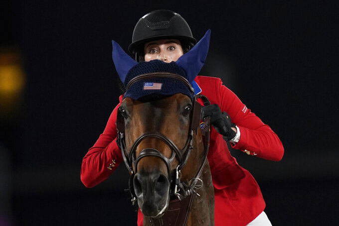 Springsteen, US team qualify for equestrian jumping final