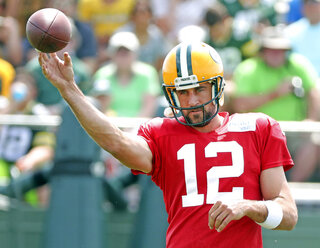 Packers Training Camp Football