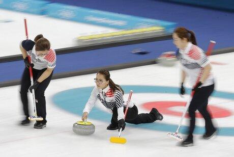 Pyeongchang Olympics Curling Women
