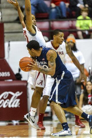 Xavier Alabama Basketball