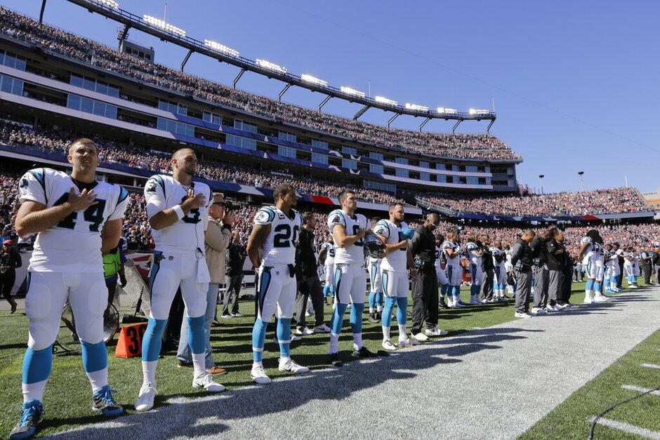 Panthers Patriots Football