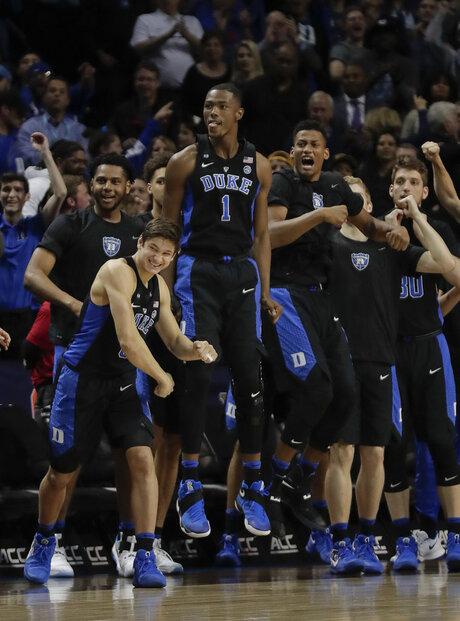 APTOPIX ACC Duke Notre Dame Basketball