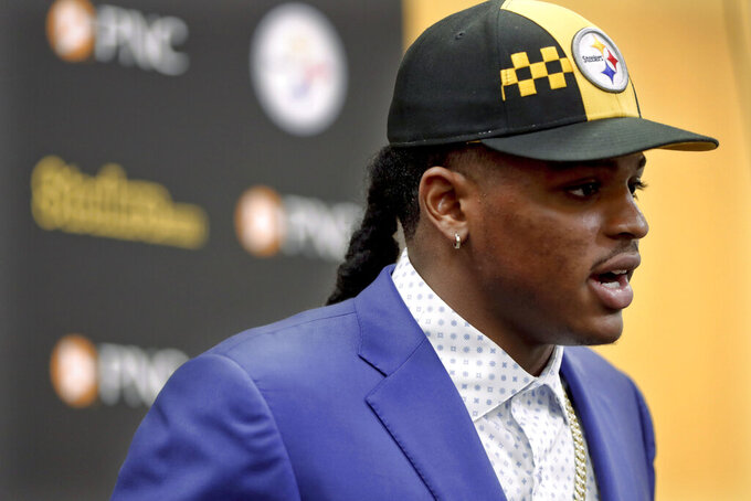 Rare move up to draft Devin Bush highlights Steelers draft