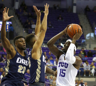 Oral Roberts TCU Basketball