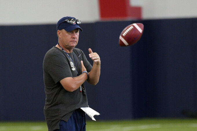 Hugh Freeze may make Liberty debut from coaching box