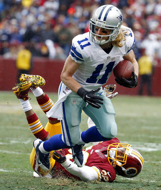 Justin Rogers, Cole Beasley