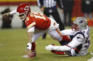 Patriots Chiefs Football