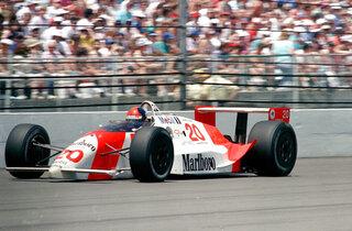 Indy 500 1990 Countdown Race 74 Auto Racing