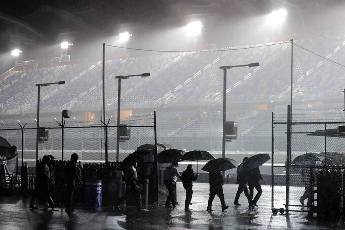 Rain postpones Xfinity Series' return at Darlington