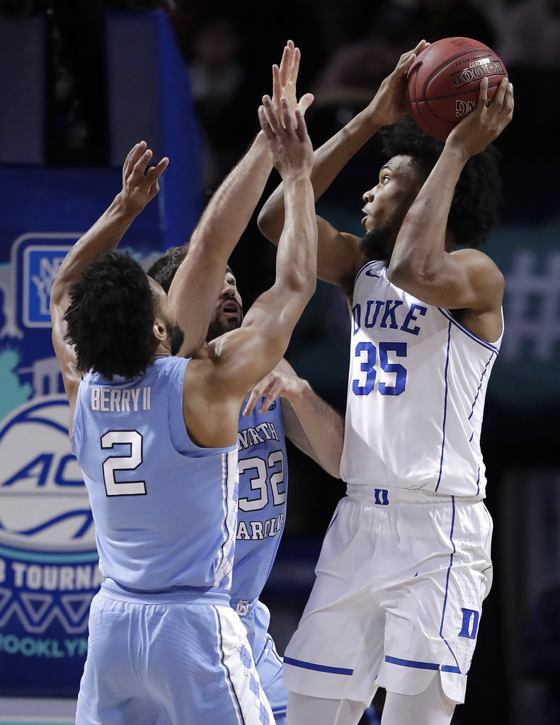 ACC UNC Duke Basketball