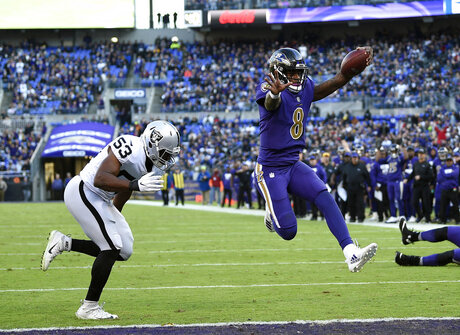 Ravens Falcons Preview Football