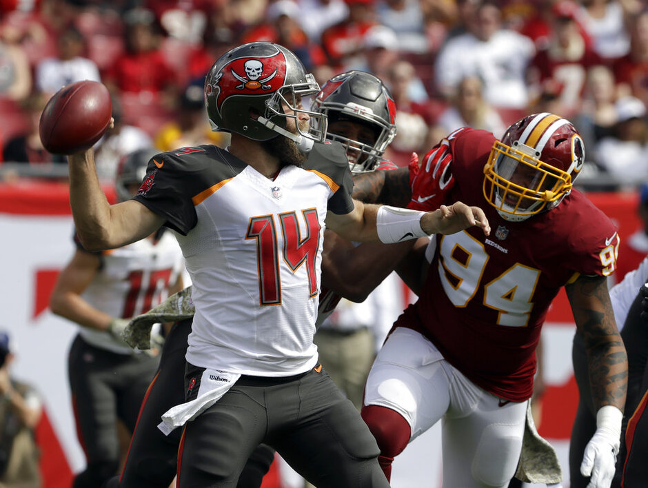 Redskins Buccaneers Football