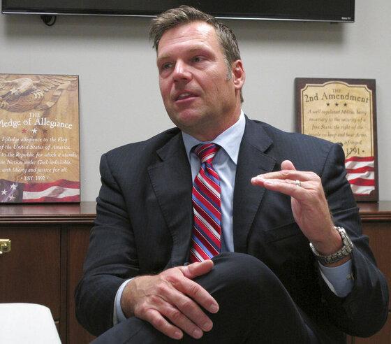Kansas Governor ACLU