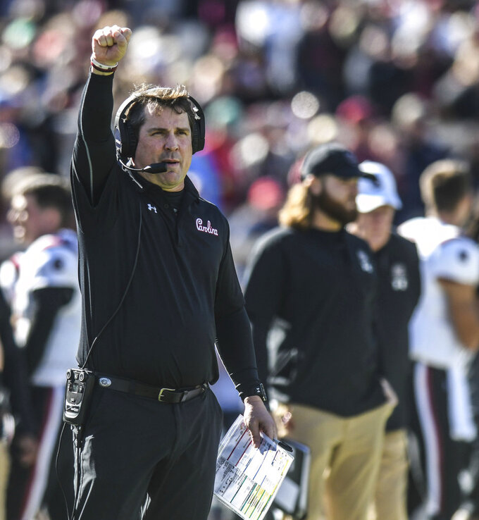 South Carolina feeling confident after consecutive wins