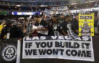 Raiders Move Football