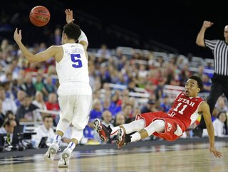NCAA Duke Utah Basketball