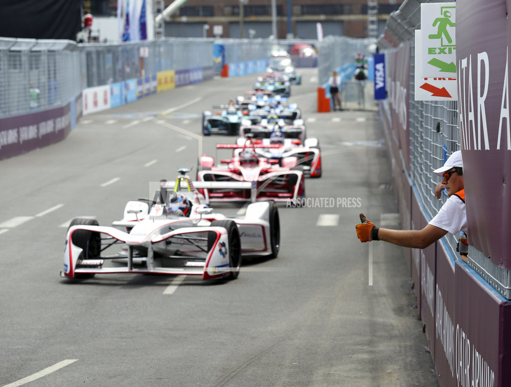 Formula E Auto Racing