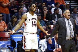 NCAA Charleston Auburn Basketball