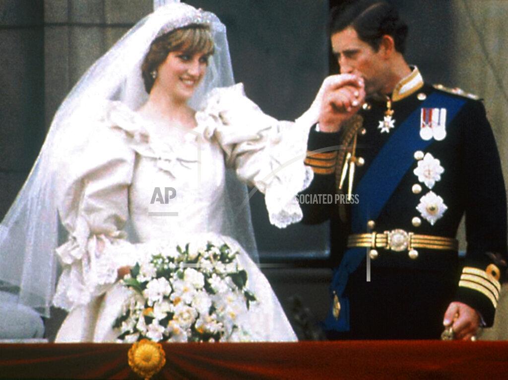 Associated Press International News United Kingdom England ROYAL WEDDING CHARLES DIANA