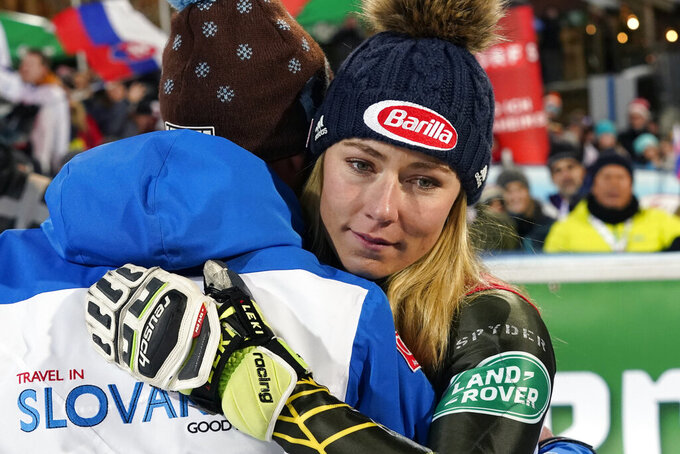 In tune: Music is Shiffrin's passion away from slopes