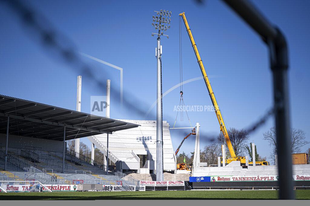 GES / Football / Karlsruhe SC-Wildparkstadion, April 1st, 2020