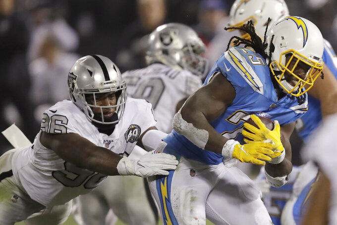 Healthy and happy, Ferrell starting to pay off for Raiders