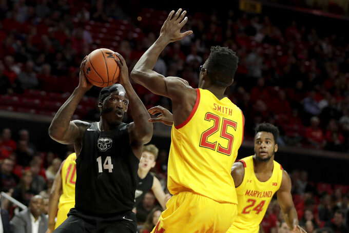 No. 7 Maryland gets defensive in 80-50 rout of Oakland