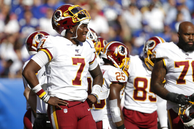 Jones, defense lead Giants over winless Redskins, 24-3