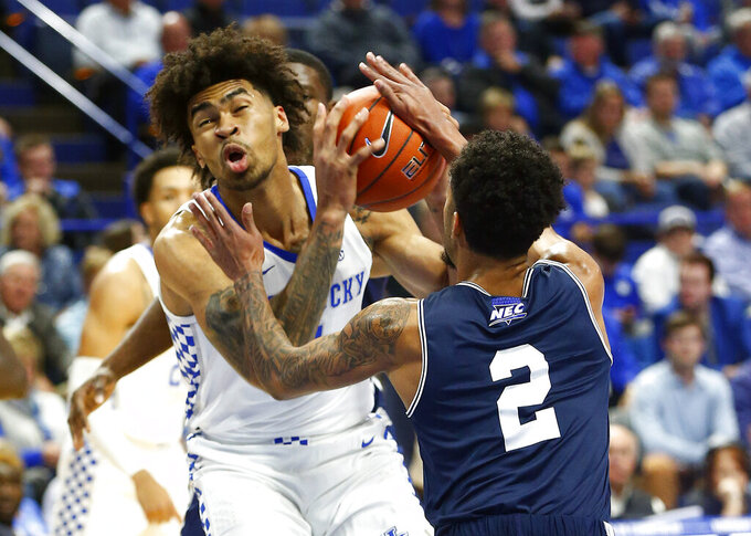 Mount St. Mary's Mountaineers at Kentucky Wildcats 11/22/2019