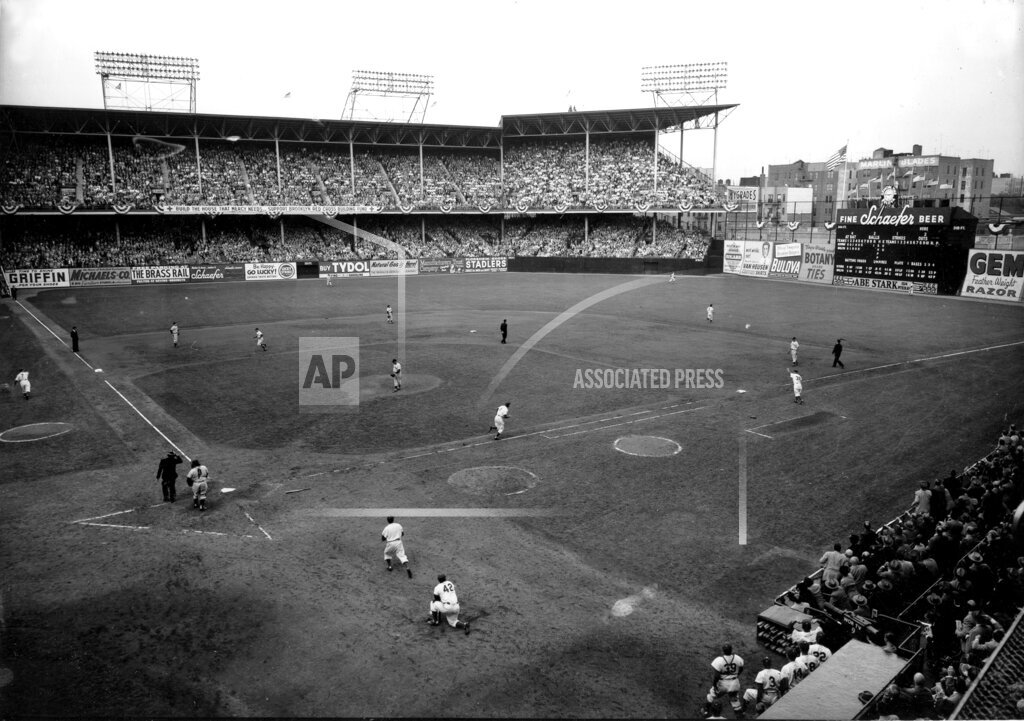 Associated Press Sports New York United States Professional Baseball (Other) WORLD SERIES YANKEES DODGERS