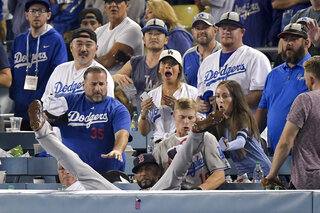 APTOPIX World Series Red Sox Dodgers Baseball