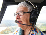 When Judith Redlawsk is in the air, she is completely at peace, May 2, 2019. At 14, she had her mother sign off on her working papers so she could begin working as a mechanic's helper at Midway Airport. She'd exchange her working hours for air time, she said. By the time she was 16, she had already accumulated over 100 hours of airtime. She got her pilot license that same year. Fittingly, once she was 18 and 23, she obtained her commercial and air transport licensees, respectively.  (Cameron Clark/York Daily Record via AP)