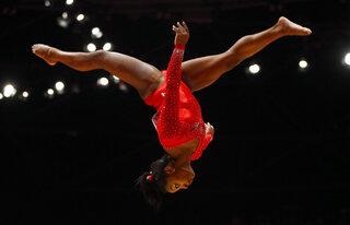 Biles Returns Gymnastics