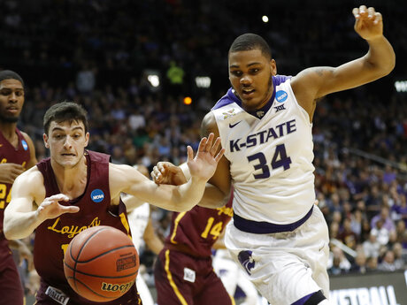 NCAA Loyola Kansas St Basketball