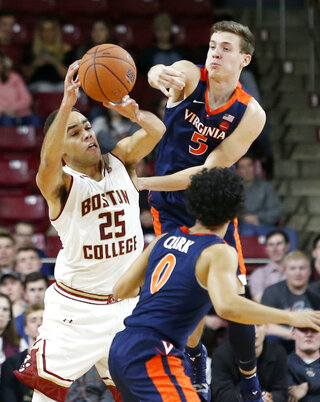 APTOPIX Virginia Boston College Basketball