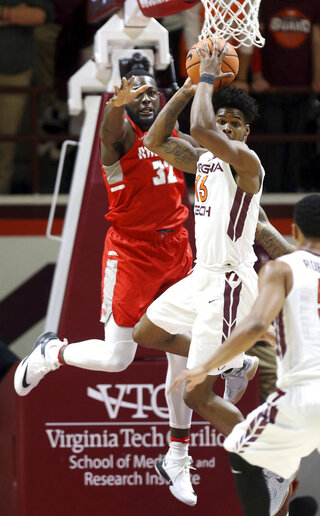 Radford Virginia Tech Basketball