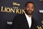 Chiwetel Ejiofor arrives at the world premiere of