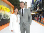 """FILE - Actors Helen McCrory, left, and Damian Lewis appear at the premiere of """"Once Upon A Time in Hollywood,"""" in London on July 30, 2019. McCrory, who starred in the television show """"Peaky Blinders"""" and the """"Harry Potter"""" movies, has died. She was 52 and had been suffering from cancer. Her husband, actor Damian Lewis, said Friday that McCrory died """"peacefully at home"""" after a """"heroic battle with cancer."""" (Photo by Joel C Ryan/Invision/AP, File)"""