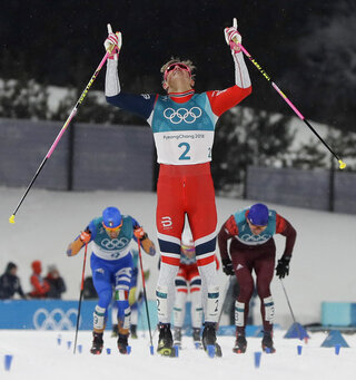 APTOPIX Pyeongchang Olympics Cross Country Men