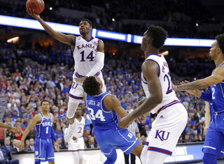 APTOPIX NCAA Duke Kansas Basketball