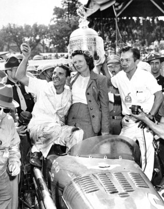 Indy 500 1946 Countdown Race 30 Auto Racing