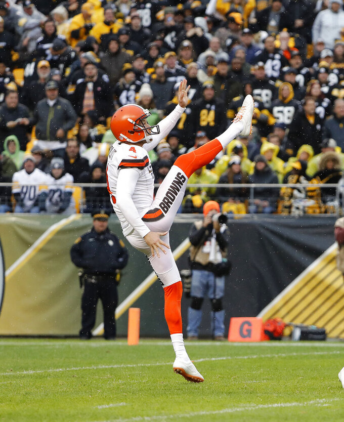 Cleveland Browns at Pittsburgh Steelers 10/28/2018