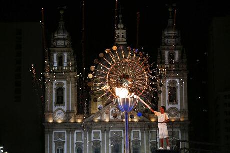 APTOPIX Rio Olympics Opening Ceremony
