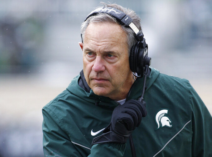 Salem taking over as Michigan State offensive coordinator