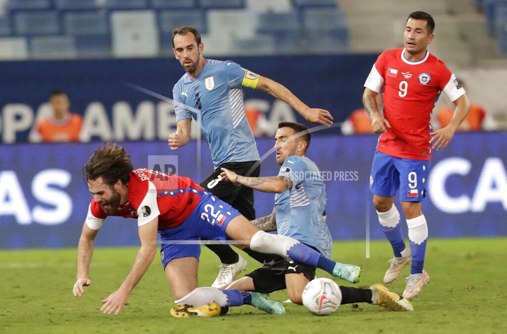 Brazil Uruguay Chile Copa America Soccer