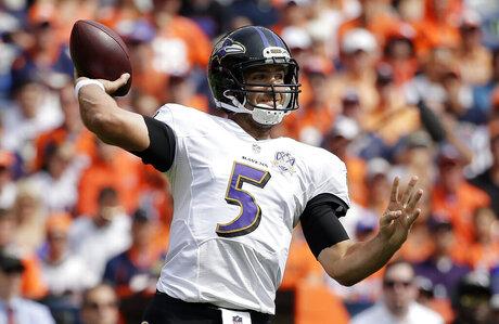 Ravens Broncos Football