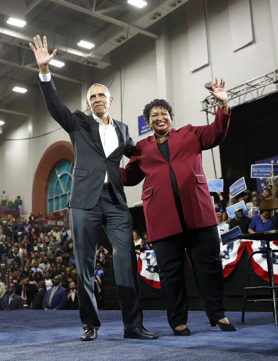 Obrack Obama, Stacey Abrams