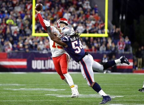 APTOPIX Chiefs Patriots Football